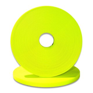 Biothane 520 / 25mm | 2.5mm neon yellow