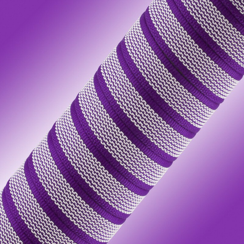 Softgrip Anti-Rutsch Gurtband 20mm violet/weiss