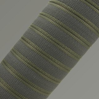 Softgrip Anti-Rutsch Gurtband 15mm khaki
