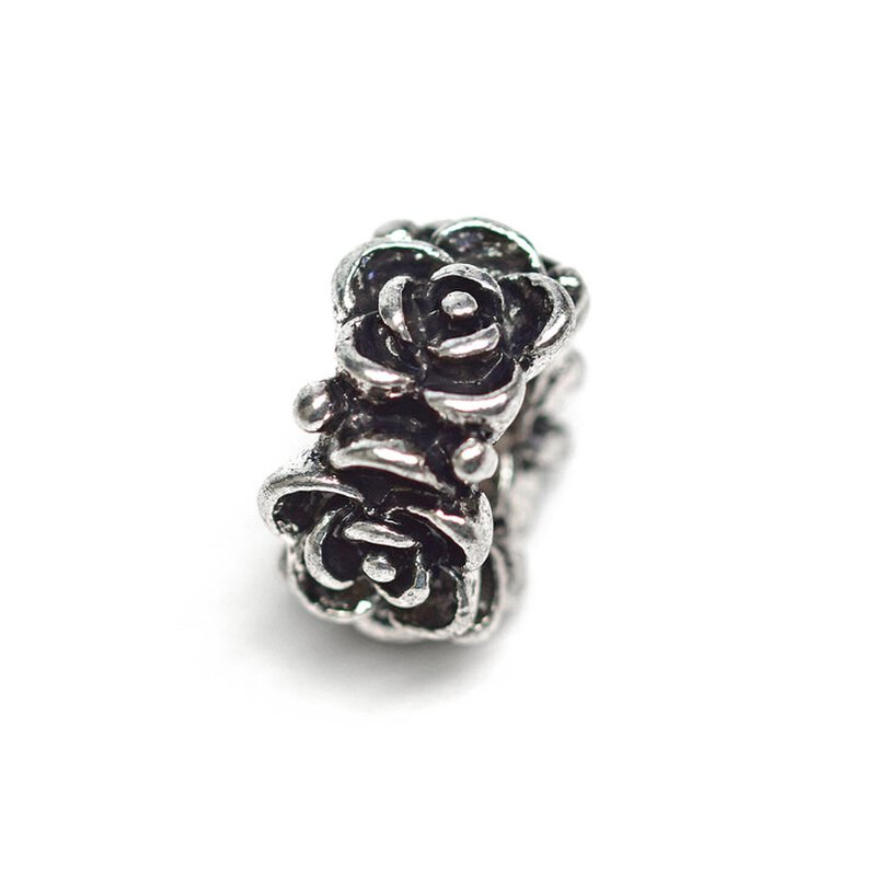 Antiksilber Bead Rose