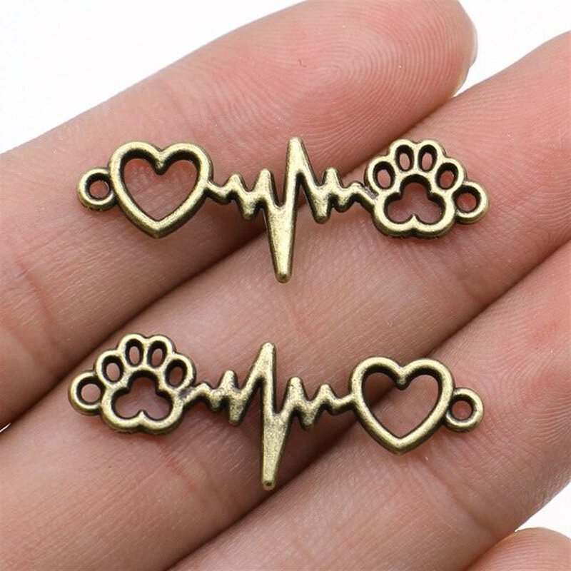 Verbinder Heartbeat for Dogs bronze