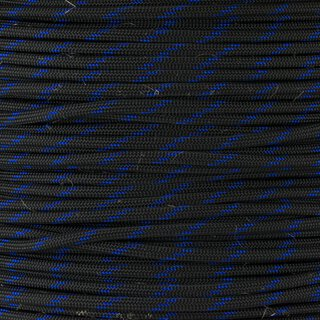Paracord Typ 3 thin blue line - Fish & Fire, mit Jute...