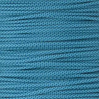 Paracord Typ 3 turquoise caribbean blue diamonds