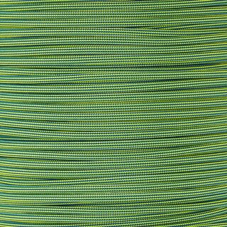 Paracord Typ 3 electric blue / neon yellow stripe