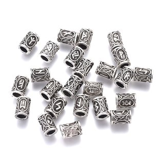 Antiksilber Bead Set Wiking