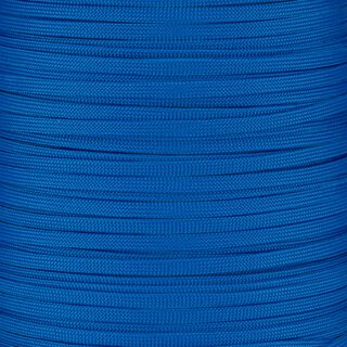 Paracord Typ 3 FLAT blue