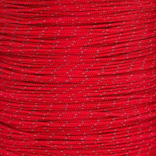 Paracord Typ 1 reflektierend imperial red