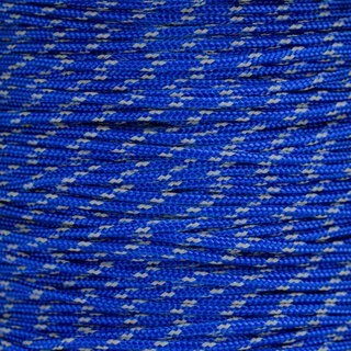 Paracord Typ 2 reflektierend electric blue