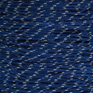 Paracord Typ 2 reflektierend midnight blue