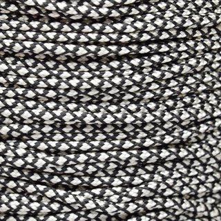 Paracord Typ 2 silver diamonds