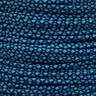 Paracord Typ 2 neon turquoise diamonds