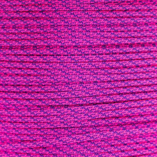 Paracord Typ 3  Helix DNA  neon pink - acid purple