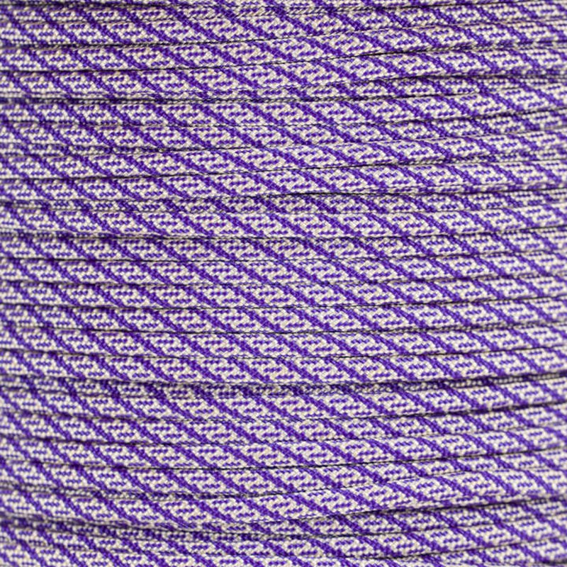 Paracord Typ 3  Helix DNA  cream - acid purple
