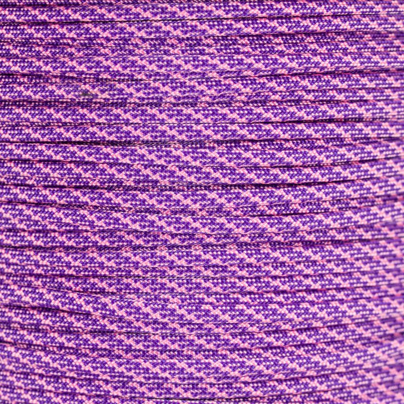 Paracord Typ 3  Helix DNA  acid purple - rose pink
