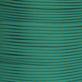 Shät solangs hät: Paracord Typ 3 dune - dark cyan diamonds
