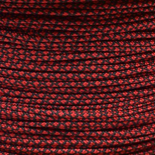 Paracord Typ 1 imperial red diamonds