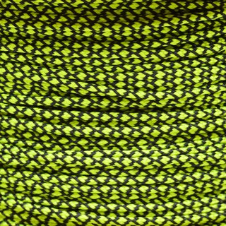 Paracord Typ 1 neon yellow diamonds