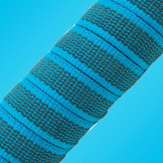Softgrip Anti-Rutsch Gurtband blau