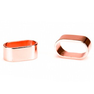 Ferrule rosé gold 20 x 10 mm