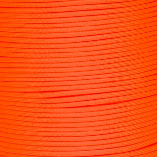 Paracord Typ 3 (PES) extreme orange