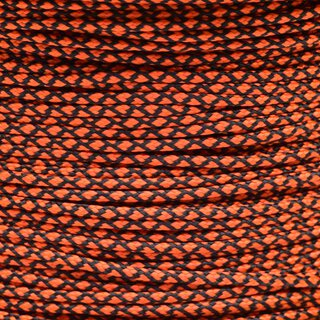 Paracord Typ 1 neon orange diamonds