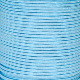 Paracord Typ 2 Glow Cord - light blue
