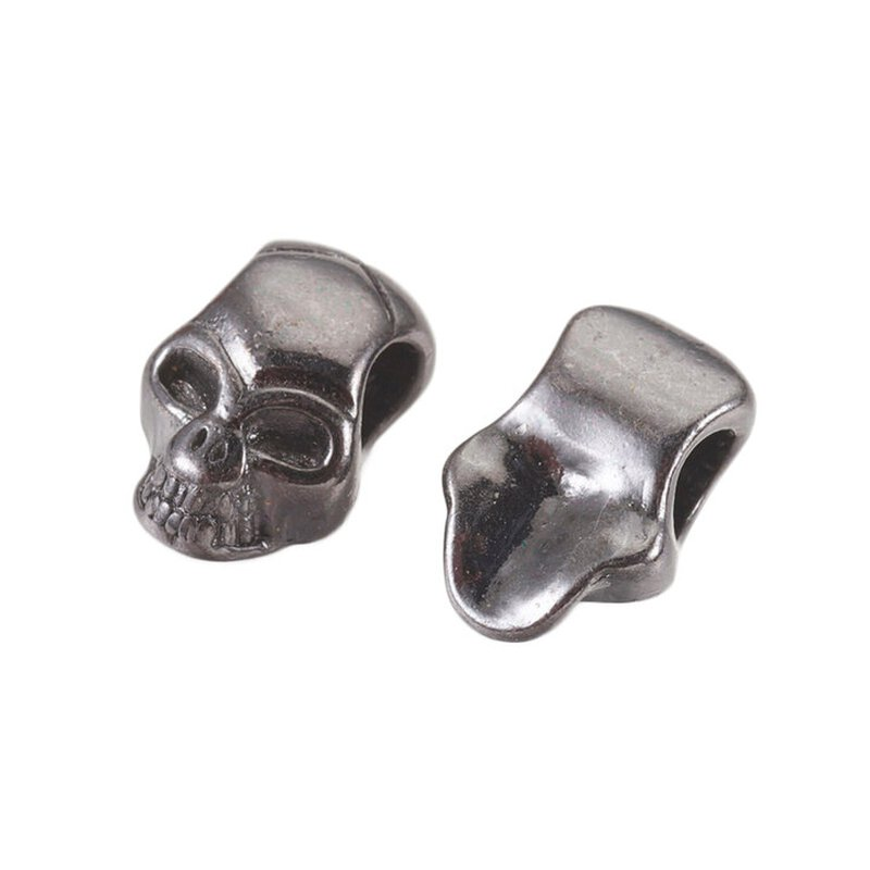 Skull Bead Mini gun black