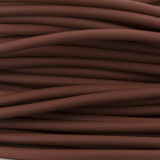 BioThane®  rund - red brown