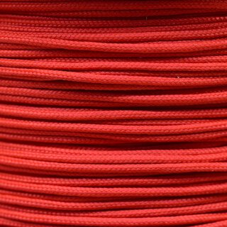 Paracord Typ 1 scarled red