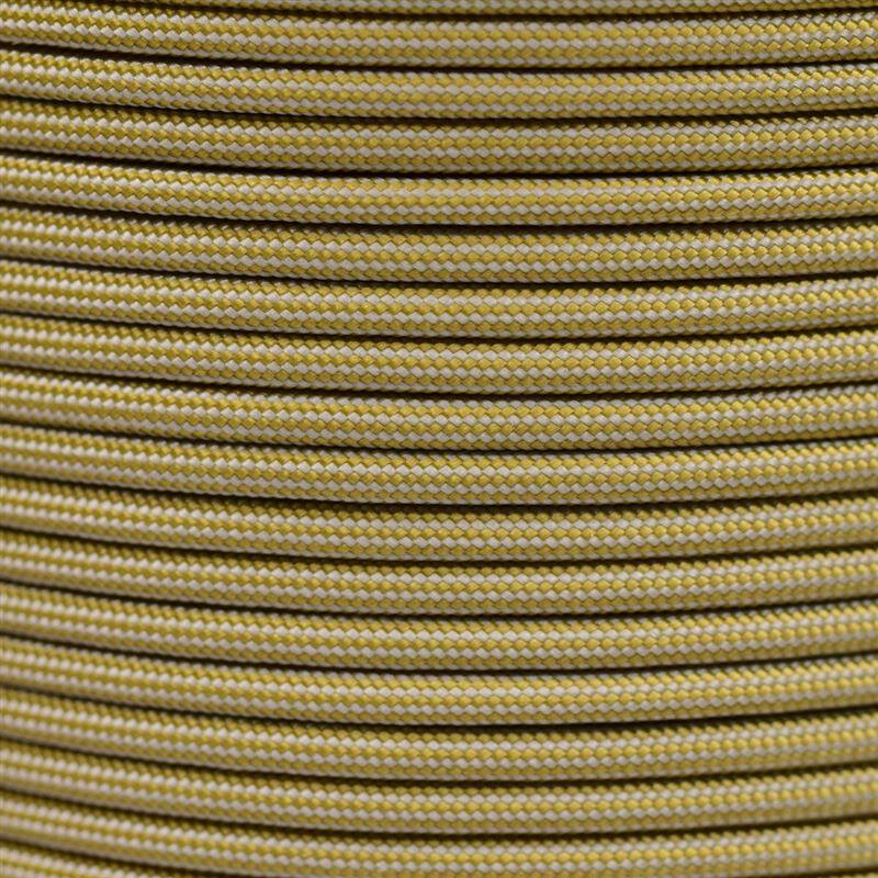 Paracord Typ 3 gold silver grey stripe