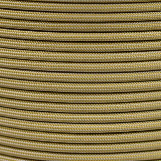 Paracord Typ 3 gold / silver grey stripe