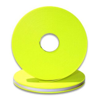 Biothane 520 / 25mm | 2.5mm neon yellow reflekt