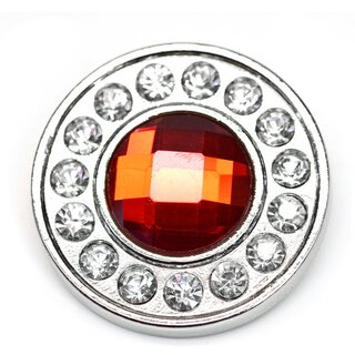 Concho Strass rot