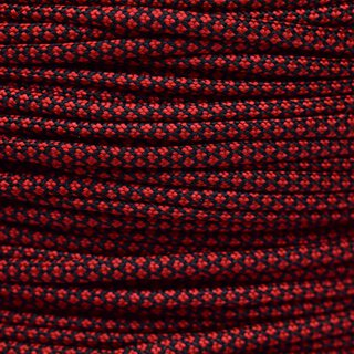 Paracord Typ 3 imperial red diamonds