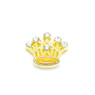 Aufschieber Bead Strass Crown golden