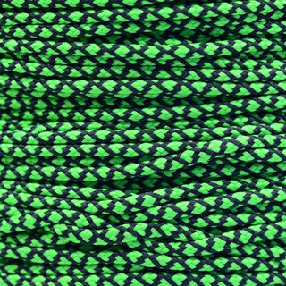 Paracord Typ 2 neon green diamonds