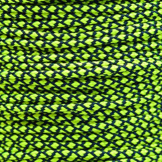 Paracord Typ 2 neon yellow diamonds
