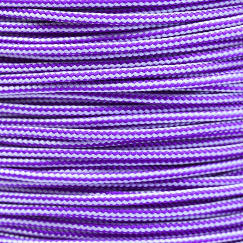 Paracord Typ 2 acid purple silver grey stripe