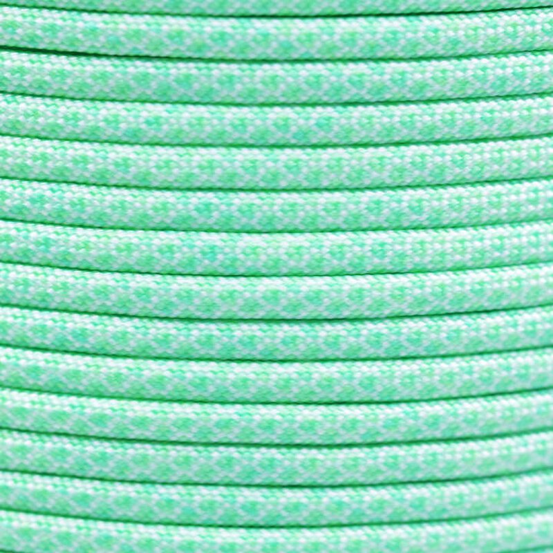 Paracord Typ 3 white mint diamonds