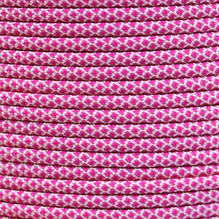 Paracord Typ 3 cream fuchsia diamonds