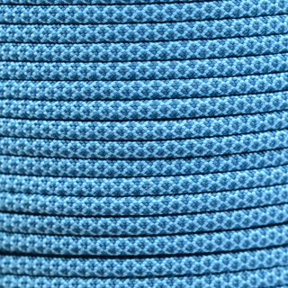 Paracord Typ 3 turquoise teal diamonds