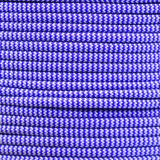 Paracord Typ 3 electric blue silver grey shockwave