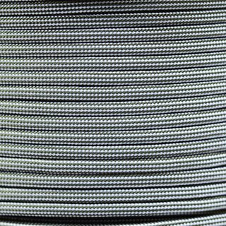Paracord Typ 3 silver grey olive darb stripe