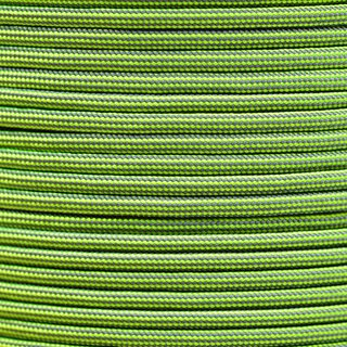 Paracord Typ 3 charcoal grey / neon yellow stripe