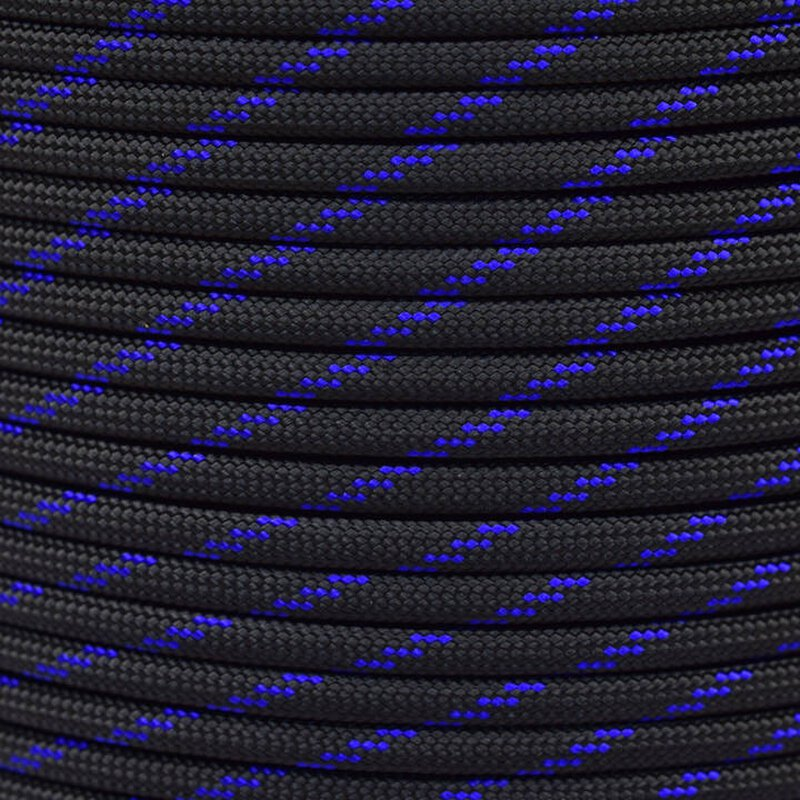 Paracord Typ 3 thin blue line