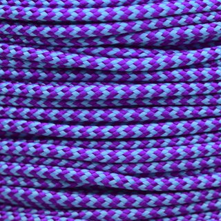 Paracord Typ 2 acid purple / neon turquoise shockwave