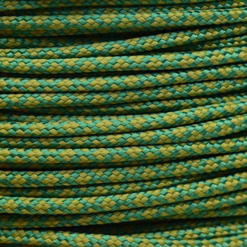 Paracord Typ 2 kelly green moss diamonds