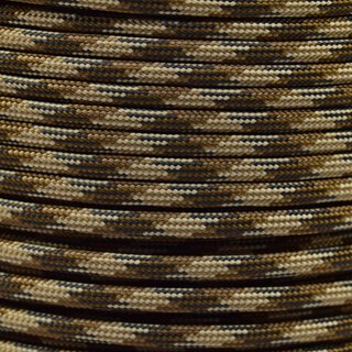 Paracord Typ 3 brown camo