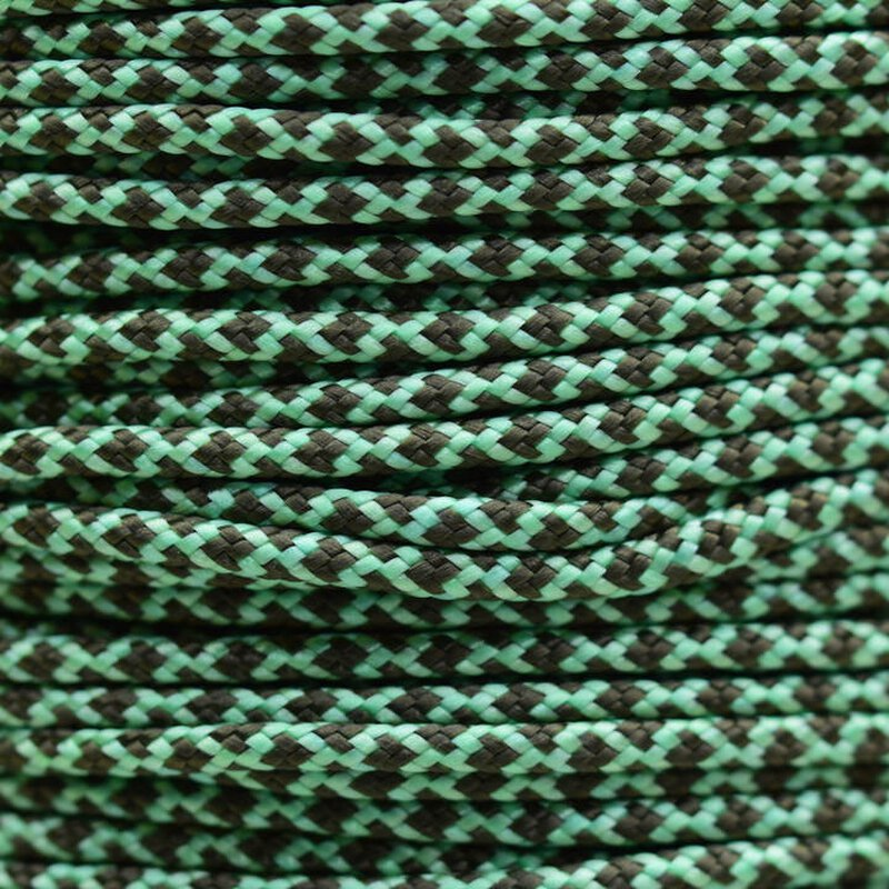 Paracord Typ 2 mint olive darb diamonds