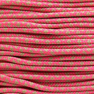 Paracord Typ 2 salmon pink tan380 diamonds